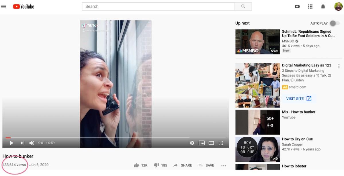 Sarah Cooper Newsjacking